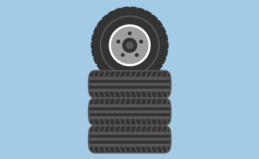 廃タイヤ発生